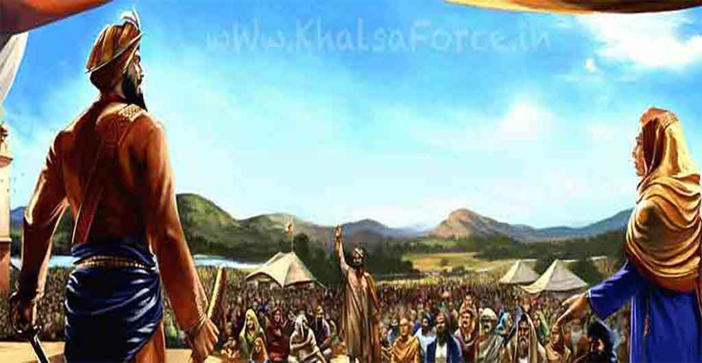 Khalsa Panth Di Sajna | 1699 Di Vaisakhi | The Establishment of the Khalsa Panth